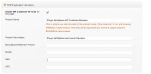 Plugins Reviews para WordPress
