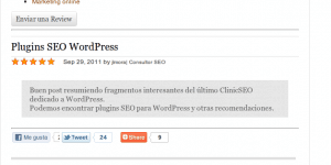 Plugin Reviews en WordPress