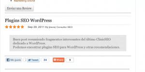 Plugin Reviews en WordPress