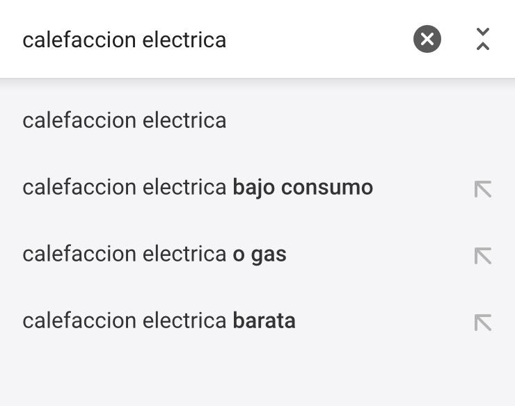 eCommerce: Anatomía de una búsqueda informativa desde móvil. 1