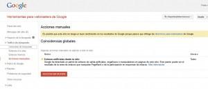 Penalizacion manual por enlaces