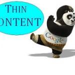 Penalización Google Panda