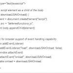 Eliminar JS y CSS que bloquean visualización en mitad superior de página