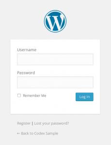 WordPress Admin Login PHP Redirect